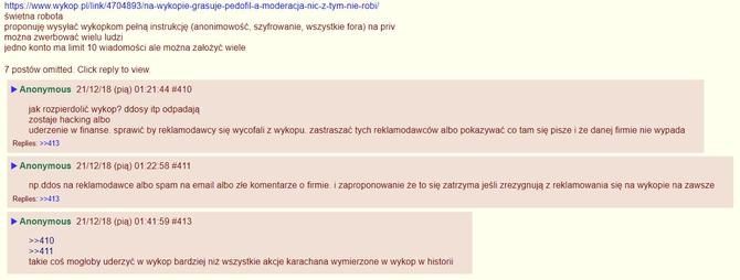Wykop.pl - Serwis ma poważny problem z pornografią dziecięcą [3]