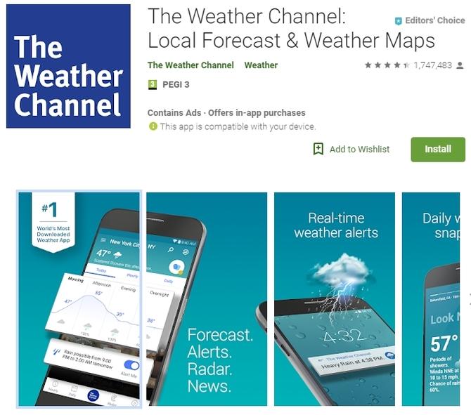 Aplikacje pogodowe masowo handlują naszymi danymi [3]