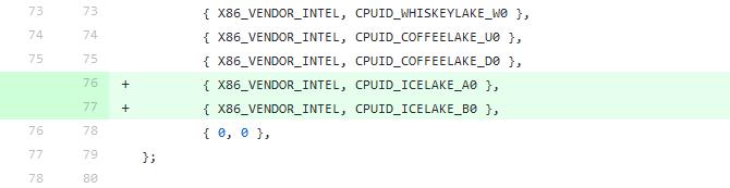 Intel Ice Lake U i Ice Lake Y - Pierwsze wzmianki o nowych CPU [2]