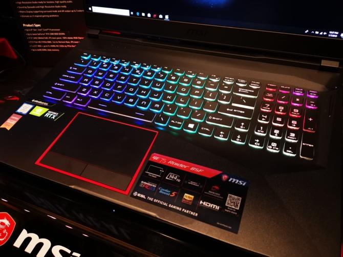 MSI prezentuje 8 notebooków z kartami NVIDIA GeForce RTX 20x0 [13]