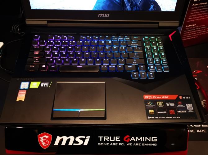MSI prezentuje 8 notebooków z kartami NVIDIA GeForce RTX 20x0 [3]