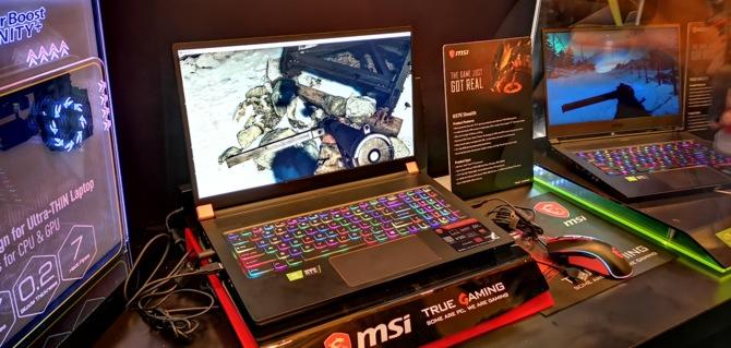 MSI prezentuje 8 notebooków z kartami NVIDIA GeForce RTX 20x0 [5]