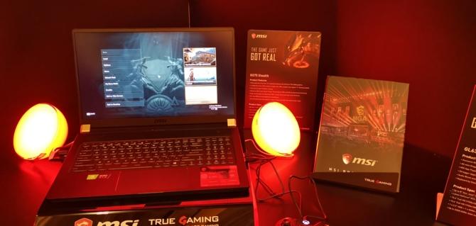MSI prezentuje 8 notebooków z kartami NVIDIA GeForce RTX 20x0 [7]