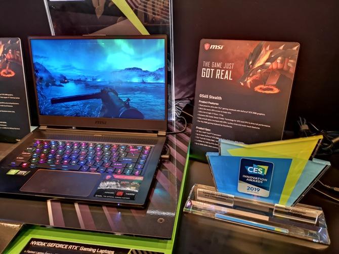 MSI prezentuje 8 notebooków z kartami NVIDIA GeForce RTX 20x0 [10]