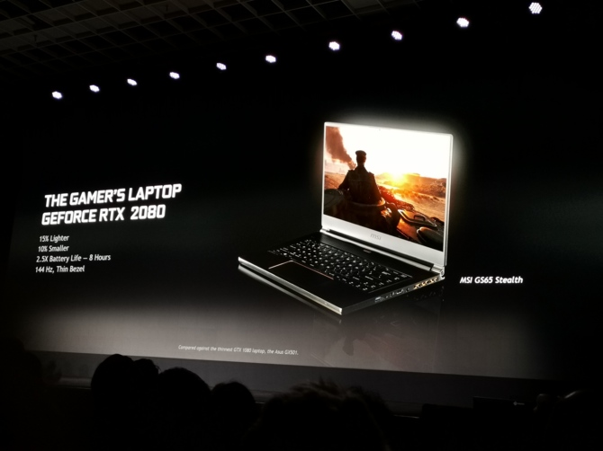 NVIDIA GeForce RTX 20x0 Mobile - Ray Tracing zmierza do laptopów [7]