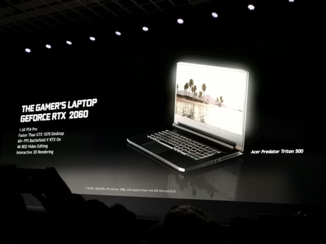 NVIDIA GeForce RTX 20x0 Mobile - Ray Tracing zmierza do laptopów [8]