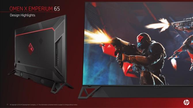 OMEN X Emperium - finalny projekt 65-calowego monitora do gier [2]