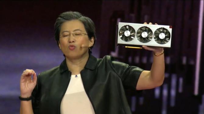 AMD Radeon VII - Vega 7 nm będzie walczyć z GeForce RTX 2080 [1]