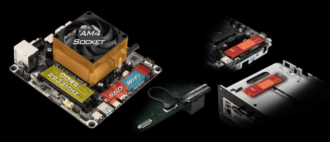 Barebone od ASRock z płytą główną Mini STX pod procesor AMD [1]