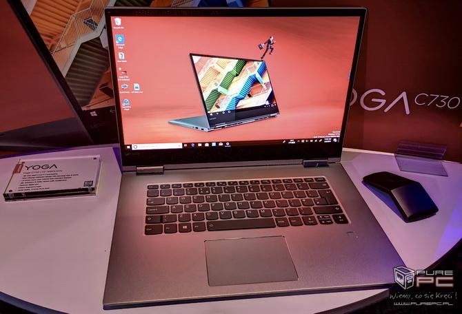 CES 2019: Nowe produkty Lenovo YOGA S940, A940 i C730 AMOLED [nc2]