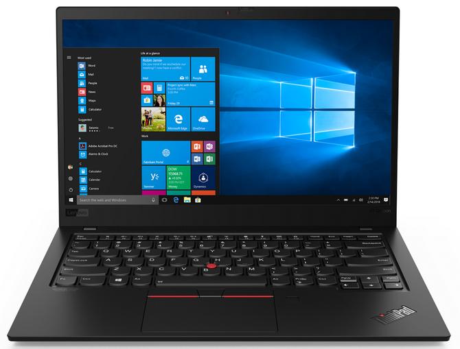 CES 2019: Siódma generacja notebooka Lenovo ThinkPad X1  [5]