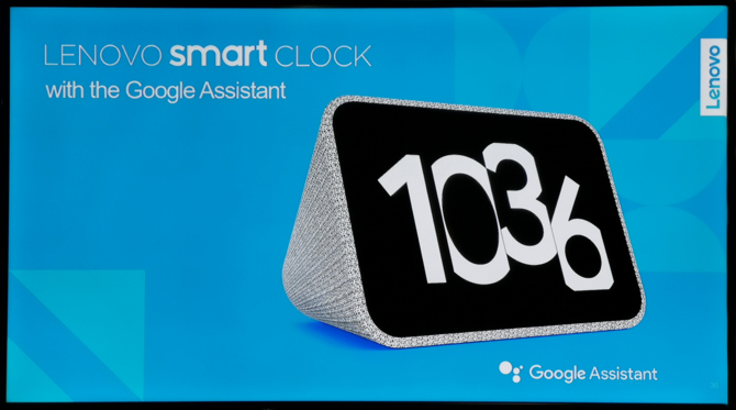 Lenovo Smart Clock - inteligentny budzik z Google Assistant [1]