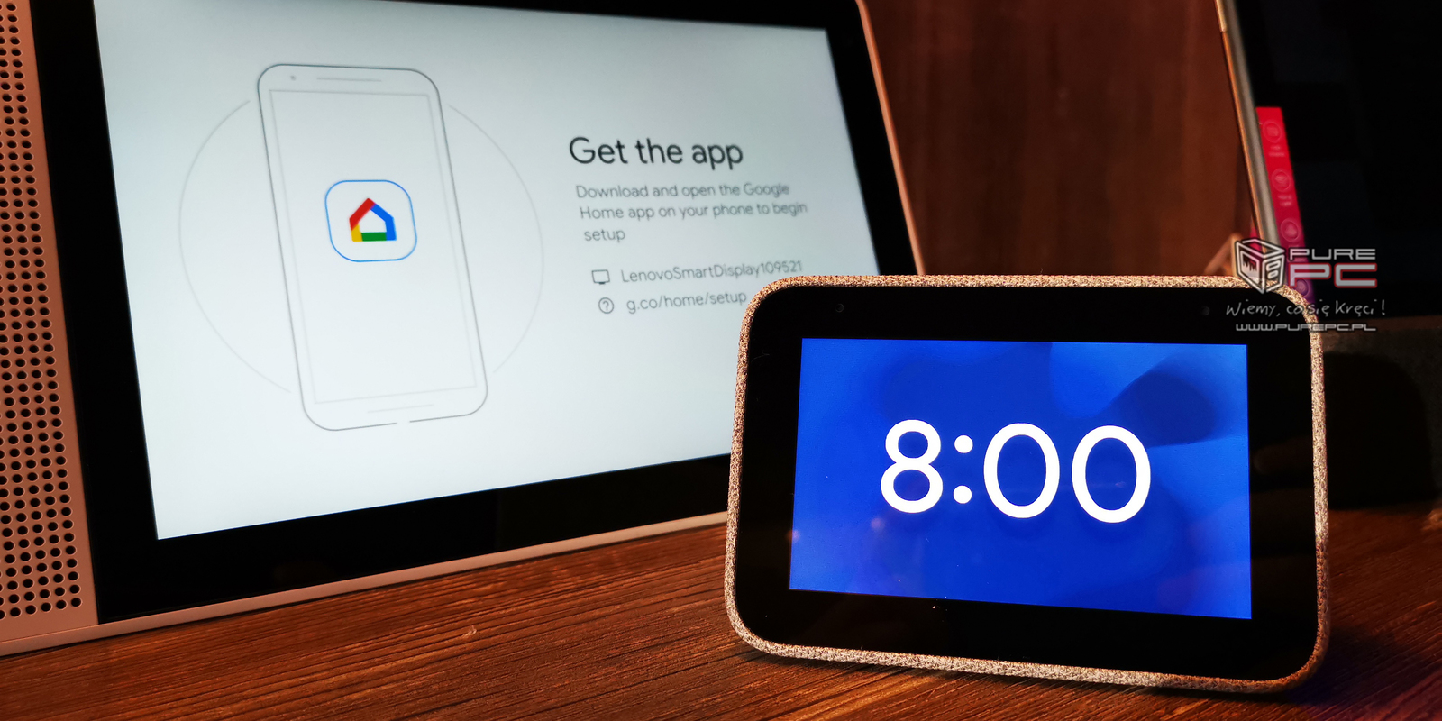 Lenovo Smart Clock - inteligentny budzik z Google Assistant