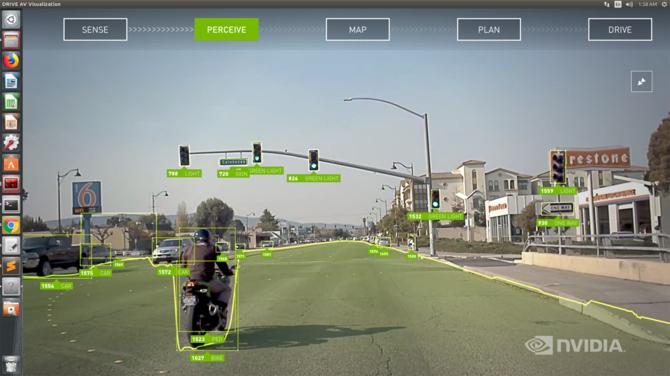 NVIDIA DRIVE sercem układu dla autonomicznych samochodów [6]