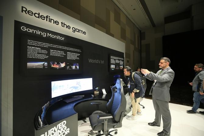 Samsung pokazał nowe monitory: CRG9, Space Monitor oraz UR59C [1]
