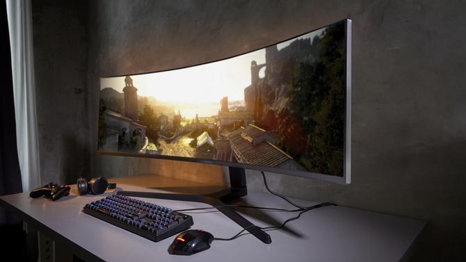 Samsung pokazał nowe monitory: CRG9, Space Monitor oraz UR59C [3]