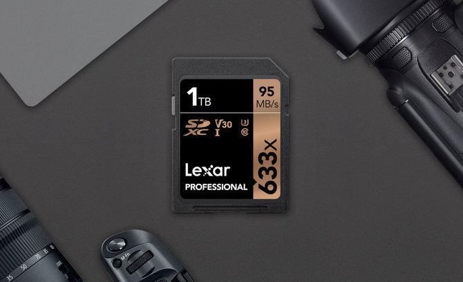 CES 2019: Lexar prezentuje kartę SDXC z serii 633x o pojemności 1TB [1]