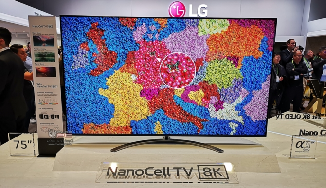 CES 2019: TV LG OLED Z9 8K oraz zwijany LG SIGNATURE OLED R [11]