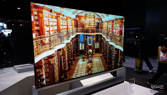 CES 2019: TV LG OLED Z9 8K oraz zwijany LG SIGNATURE OLED R [4]