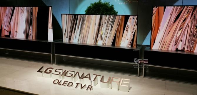 CES 2019: TV LG OLED Z9 8K oraz zwijany LG SIGNATURE OLED R [6]