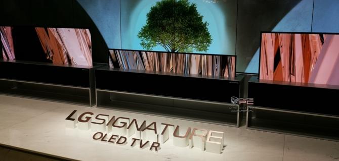 CES 2019: TV LG OLED Z9 8K oraz zwijany LG SIGNATURE OLED R [7]