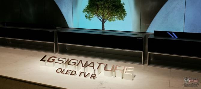 CES 2019: TV LG OLED Z9 8K oraz zwijany LG SIGNATURE OLED R [8]