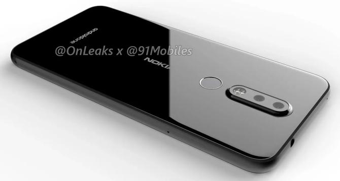 Nokia 8.1 Plus na renderach - kolejny smartfon z otworem w wyświetlaczu [1]