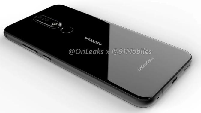 Nokia 8.1 Plus na renderach - kolejny smartfon z otworem w wyświetlaczu [2]