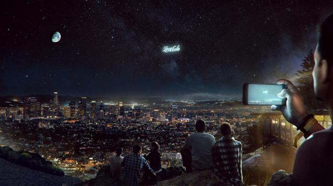 Reklamy zamiast gwiazd. StartRocket planuje billboardy na niebie [4]