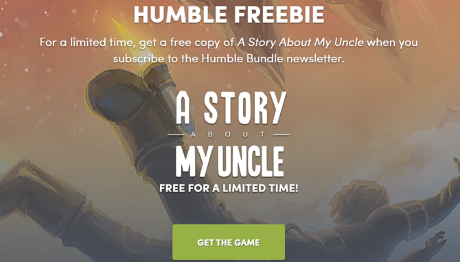 A Story About My Uncle darmowe przez 48h na Humble Bundle [1]