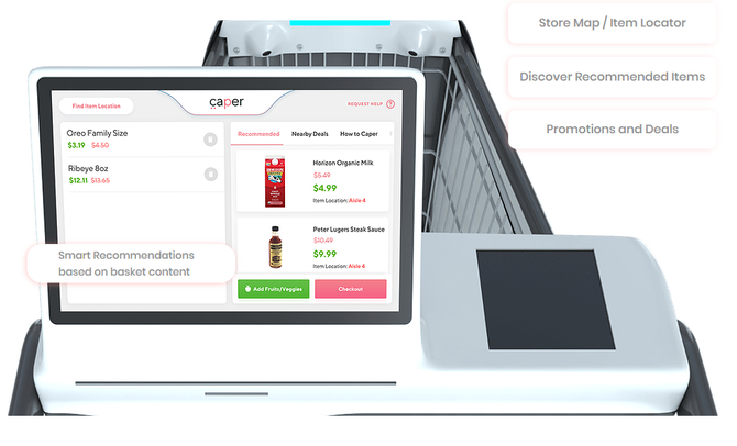 Carper cart - wózek na zakupy ze sztuczną inteligencją [1]