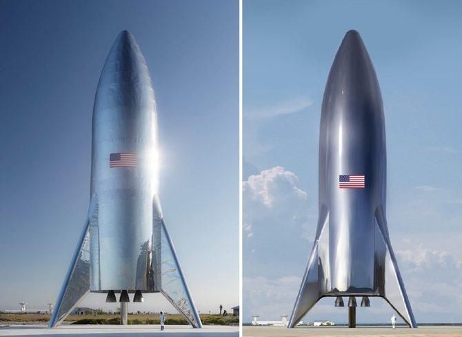 SpaceX Starship: pierwsze zdjęcie rakiety do podróży turystycznych [2]