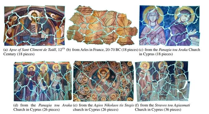 Algorytm komputerowy pomaga układać zniszczone freski [3]