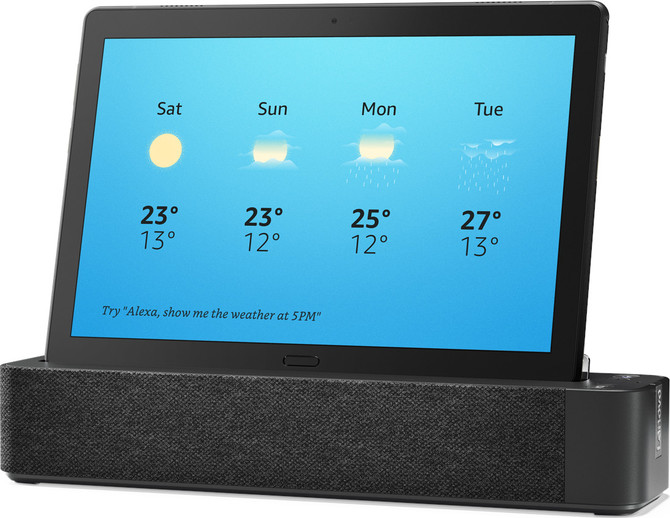 CES 2019: Lenovo Smart Tab M10 i P10 - tablety ze stacją dokującą [2]