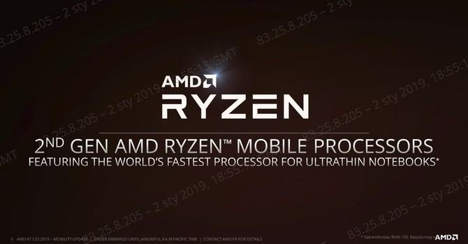CES 2019: presentation of new laptops with AMD Ryzen processors [10]