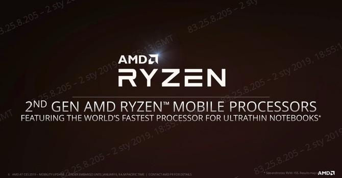 CES 2019: Prezentacja nowych laptopów z procesorami AMD Ryzen [10]