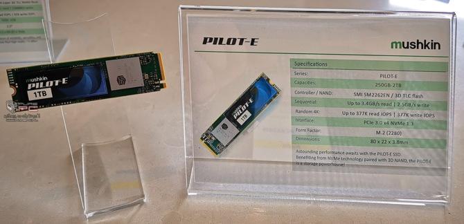 CES 2019: Mushkin prezentuje dyski SSD PILOT-E oraz HELIX-L [2]