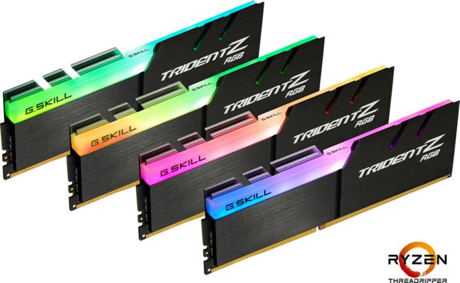 G.SKILL Trident Z RGB - Zestaw modułów RAM dla AMD X399  [1]
