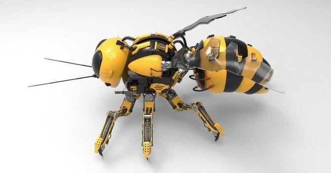 DARPA chce tworzyć świadome roboty z użyciem mózgów insektów [3]