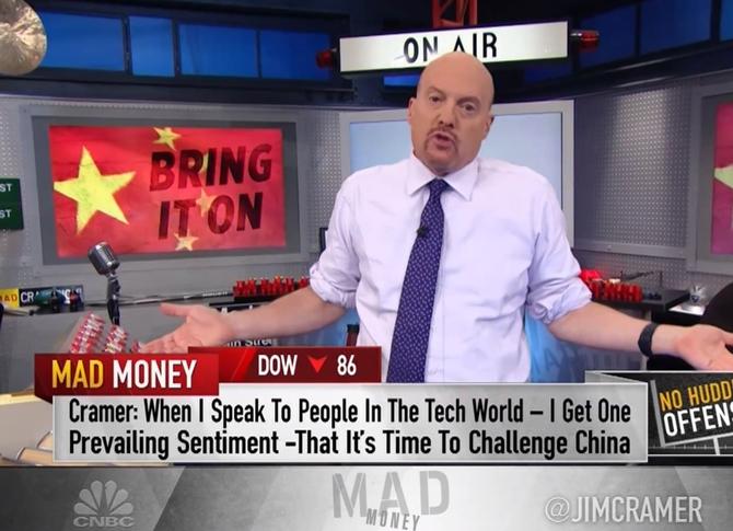 Mad Money twierdzi, że firmy technologiczne kibicują Trumpowi [1]