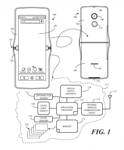 Motorola Razr powróci jako smartfon ze składanym ekranem? [1]
