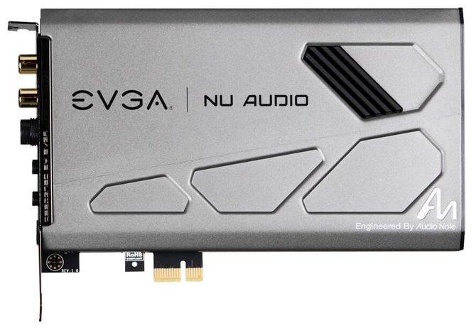 EVGA NU Audio - karta dźwiękowa z układem XMOS xCORE-200 [1]