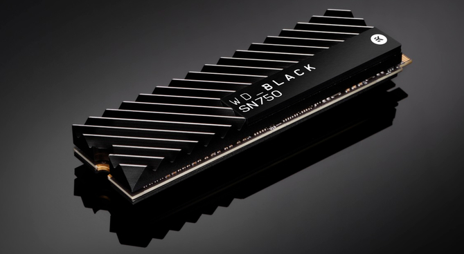 WD Black SN750 - Nośniki SSD M.2 NVMe z fabrycznym radiatorem  [1]