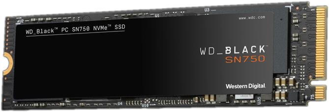 WD Black SN750 - Nośniki SSD M.2 NVMe z fabrycznym radiatorem  [3]