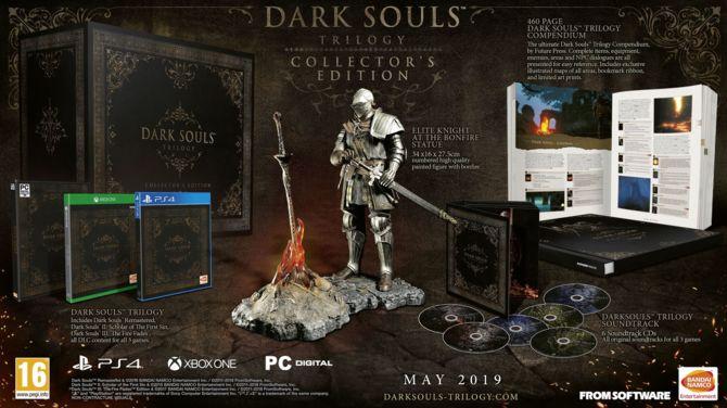 Trylogia Dark Souls: europejska edycja kolekcjonerska za... 500 euro [1]
