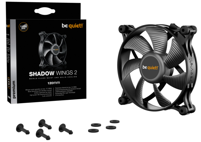 Nowości wentylatory be quiet! Shadow Wings 2 i Pure Wings 2 [1]