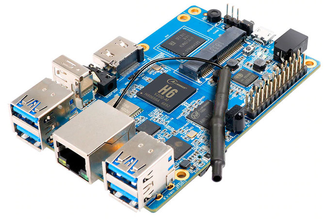 Orange Pi 3 trafia do sprzedaży. Może zagrozić pozycji Raspberry Pi 3 [1]