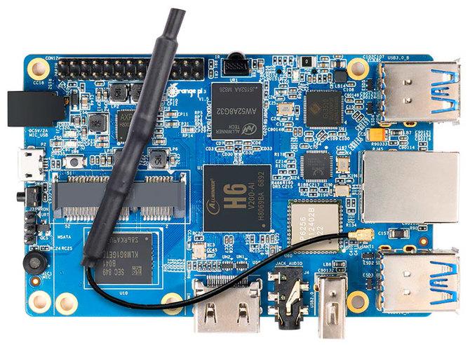 Orange Pi 3 trafia do sprzedaży. Może zagrozić pozycji Raspberry Pi 3 [2]