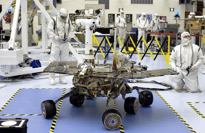 NASA próbuje połączyć się z marsjańskim łazikiem Opportunity [2]