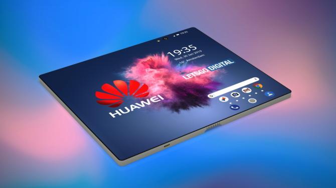 Składany smarfon od Huawei zadebiutuje na MWC 2019 [1]